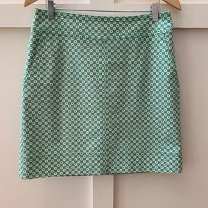 talbots cotton canvas skirt